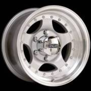 Cragar 409 Mirage Silver