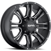 DPR Offroad Commando Black with Silver Trim