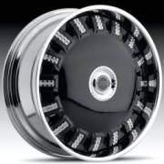 DUB Opera Black Spinning Wheels