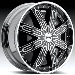 DUB Tycoon Black Spinning Wheels