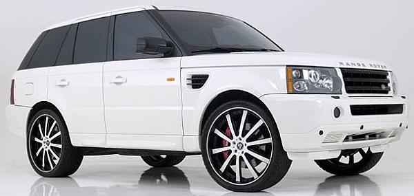 DUB X-180 for Range Rover