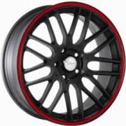 Divinity D66 Black Red Racing Stripe