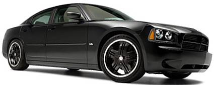 Dodge Charger with Zinik Z12 Mazotti Black