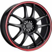 Drag DR-31 Flat Black Red Stripe