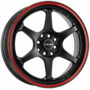 Drag DR-32 Flat Black Red Stripe