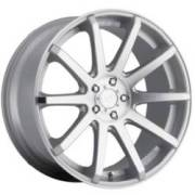 Dropstars DS643 Silver Machined Wheels