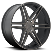 Dub D123 Skillz Black Machined Dark Tint