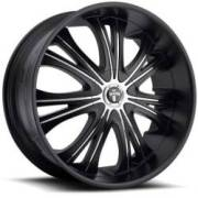 Dub Mamba Matte Black Chrome Paintable Inserts
