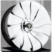 DUB Mega Spinner Skatez S911 Chrome