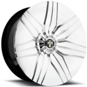 Dub Mega Spinner Thuddie S913 Chrome