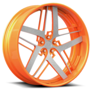 Dub X-82 Exotica Orange Brushed Face