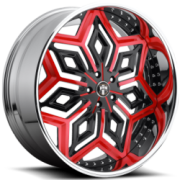 Dub X-87 Chron Black Red Accents CL