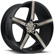 Dub S119 Lace Black Machined Dark Tint