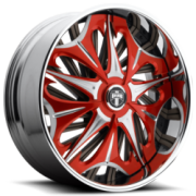 Dub Spike S715 Red Brushed Accents