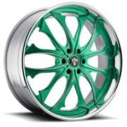 Dub Triton C18 Green Chrome Lip