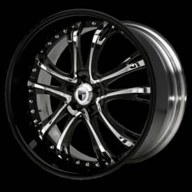 DF311 Black & Chrome ctr. w/Black Lip