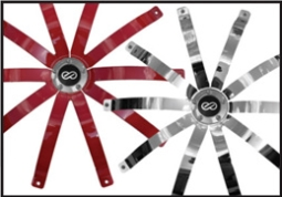 Optional Covers Available in Black, Chrome & Red