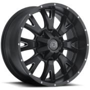 Eagle Alloy 018 Matte Black Milled