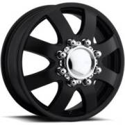 Eagle Alloy 098 Dually Black Front