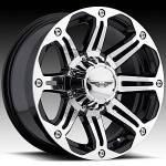 American Eagle Wheels Series 050 Super Finish Blac