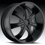 American Eagle Wheels Series 051 Black