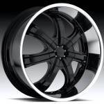 American Eagle Wheels Series 051 Super Finish Blac