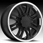 American Eagle Wheels Series 059 Super Finish Blk.