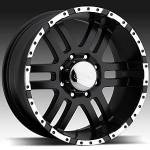 American Eagle Wheels Series 079 Black