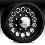 American Eagle Wheels Series 101 Black
