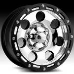 American Eagle Wheels Series 137 Super Finish Blk.