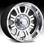 American Eagle Wheels 140 Super Finish Blk.