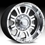 American Eagle Wheels 140 Super Finish Blk.