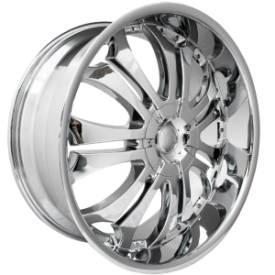 F5 Racing F5-115 Chrome Wheels