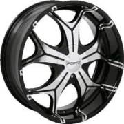 Forte F15 Miami Black Mirror Custom Wheels