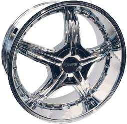Forte F44 Kleavage Chrome Wheels