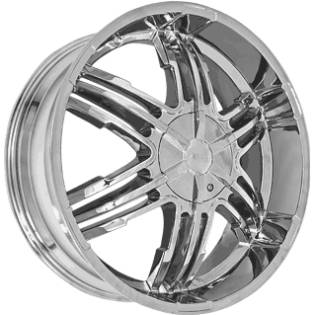 Forte F55 Chrome Wheels