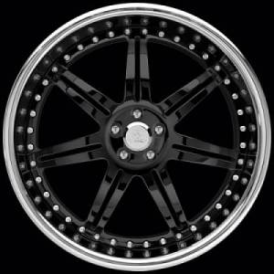 Fesler Racing FS904 Black Center / Chrome Lip