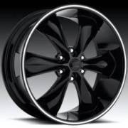Foose Legend 6 Black Wheel