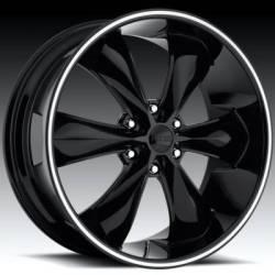 Foose Legend 6 Black Wheel