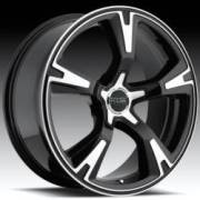 Foose Legend R/S Black Wheel
