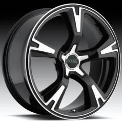 Foose Legend R/S Black Wheel