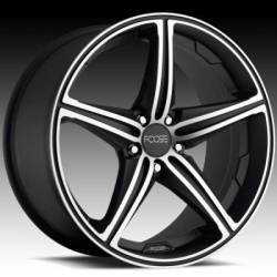 Foose Speed Black Wheel