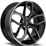 Foose Outkast F150 Gloss Black Milled
