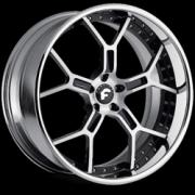 GTR Satin Silver Blk Trim Chrome Lip