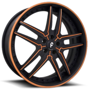 Vizzo Blk Orange Inserts