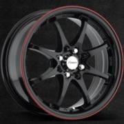 Forza 302 Gloss Black Red Stripe