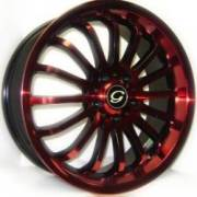 G-Line G601 Blk Red 2 tone