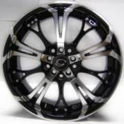 G-Line G667 Black Machined Wheels