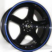 G-Line G809 Blk Blue Stripe