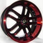 G-Line G817 Blk Red 2 tone